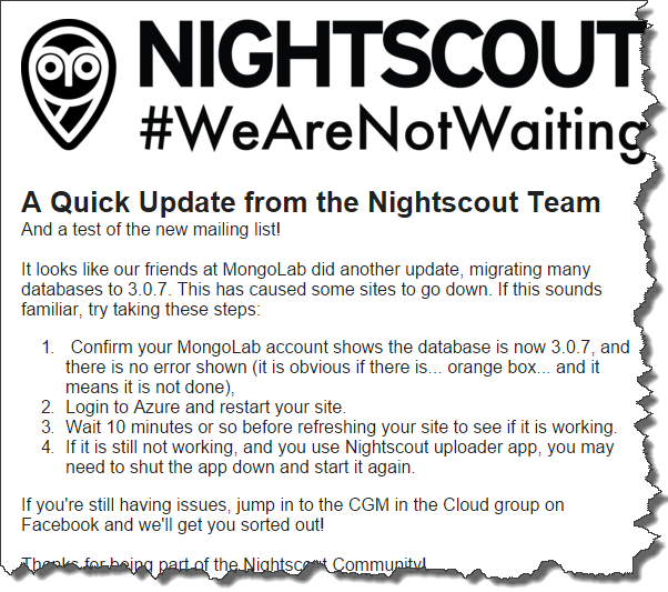 Restarting Heroku Dynos for NightScout (or other Adventures)